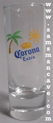 Corona Extra Shooter Shot Glass