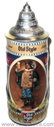 1990 Old Style Beer Stein