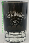 Jack Daniel's Black Glass Shot Glass