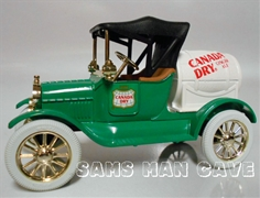 Canada Dry Ginger Ale 1918 Barrel Truck Bank