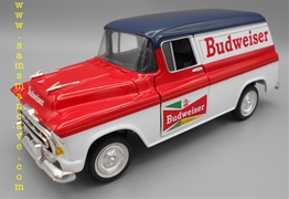 Budweiser 1957 Chevy Panel Delivery Bank