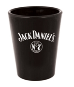 Jack Daniels Black Shot Glass