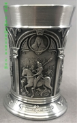 Albrecht Duerer Pewter Shot Glass