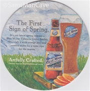 Blue Moon Valencia Grove Amber Beer Coaster