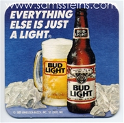 Bud Light Everything Else Beer Coaster