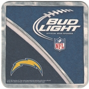 Bud Light San Diego Chargers Coaster