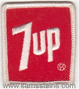 7 Up Patch (red) Patch