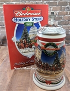 2001 Budweiser Holiday Holiday At The Capitol Signature Edition Stein