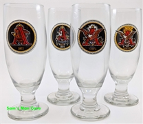Anheuser-Busch Evolution of Excellence Pilsner Glass Set