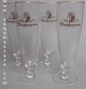 Budweiser Clydesdale Pokal Glass Set