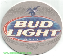 Bud Light Beer Coaster