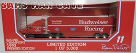 Bill Elliott Budweiser Racing Hauler