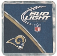 Bud Light St. Louis Rams Coaster