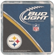 Bud Light Pittsburgh Steelers Coaster